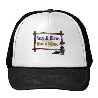 Monte a un paramédico gorras
