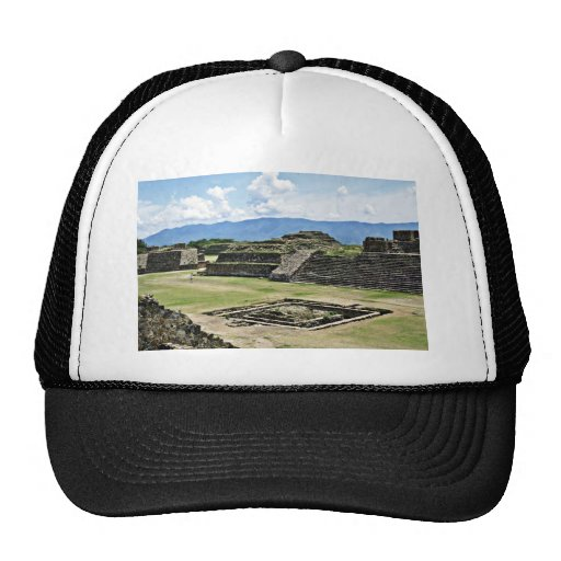 Monte Alban, 1500 BC-750 AD Trucker Hats