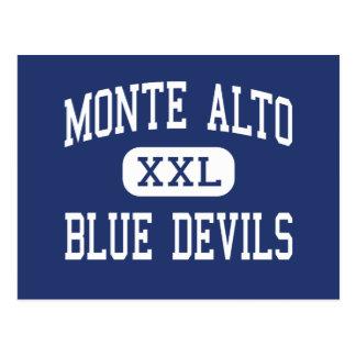 Monte Alto - Blue Devils - Junior - Monte Alto Postcard