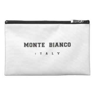 Monte Bianco Italy Travel Accessories Bags