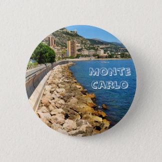 Monte  Carlo in Monaco Pinback Button