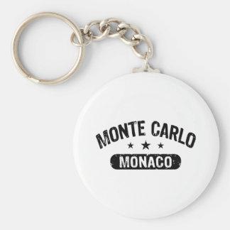 Monte Carlo Llavero Redondo Tipo Pin
