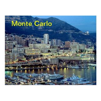 Monte Carlo magnet Postcard