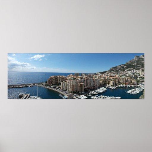 Monte Carlo, Mónaco Póster
