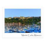 Monte Carlo Mónaco Tarjeta Postal