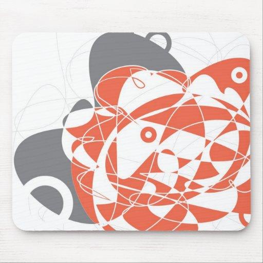 Monte Carlo Mousepad abstracto Tapete De Raton
