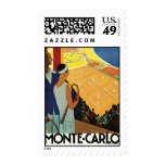 Monte Carlo Postage Stamp