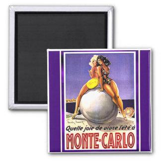 Monte Carlo que baña el imán de las bellezas