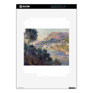 Monte Carlo Seen from Roquebrune by Claude Monet Decal For The iPad 2