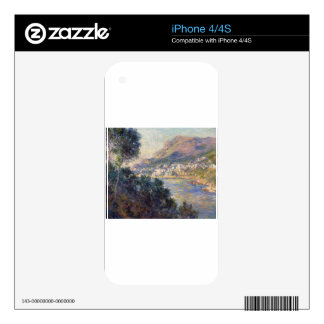 Monte Carlo Seen from Roquebrune by Claude Monet Skin For iPhone 4S