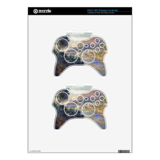 Monte Carlo Seen from Roquebrune by Claude Monet Xbox 360 Controller Decal