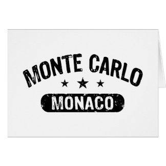 Monte Carlo Tarjeta De Felicitación