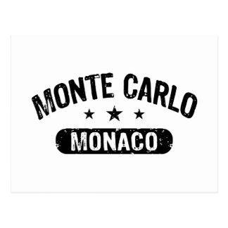Monte Carlo Tarjetas Postales