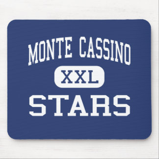 Monte Cassino Stars Middle Tulsa Oklahoma Mouse Pad