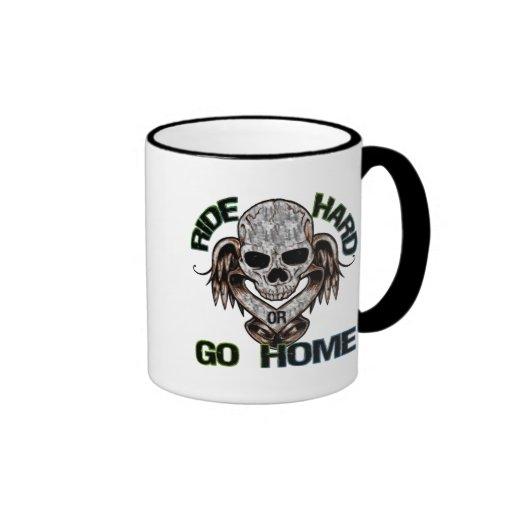 Monte difícilmente o vaya a casa tazas de café
