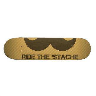 Monte el 'Stache Tablas De Skate