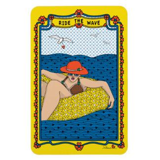 MONTE el WAVE_1E_Magnet Flexi 4x6 Imanes De Vinilo