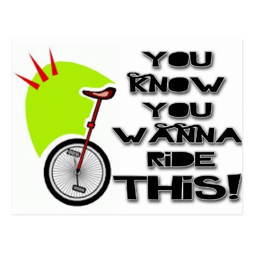 Monte este Unicycle Postal