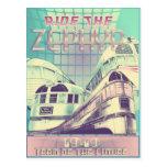 Monte la nostalgia 1949 del vintage del Zephyr Postal