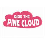 monte la nube rosada postal
