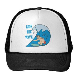 Monte la onda gorros