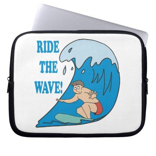 Monte la onda manga portátil