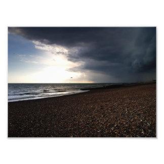 Monte la tormenta arte fotográfico