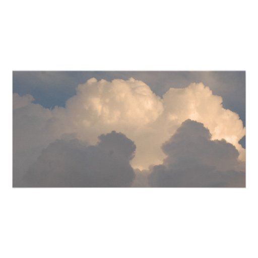 Monte la tormenta plantilla para tarjeta de foto