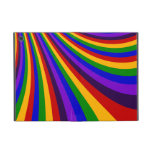Monte las rayas coloridas de la diapositiva del ar iPad mini protectores