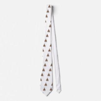 Monte los carriles corbata personalizada