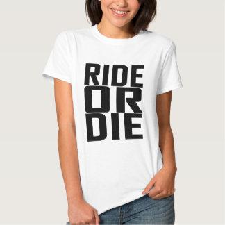 Monte o muera las camisetas .png playeras