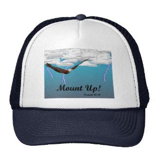 Monte para arriba en el gorra inspirado de las ala