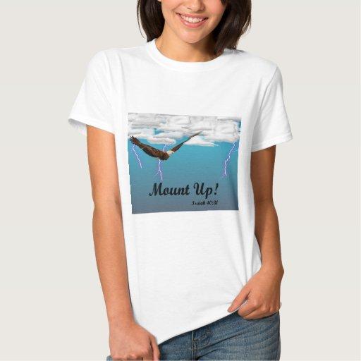 Monte para arriba en la camiseta inspirada de las camisas