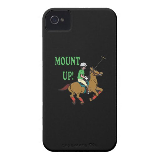 Monte para arriba iPhone 4 Case-Mate fundas