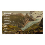Monte Rosa and Hotel Schwarzsee, Valais, Alps of, Business Card Templates