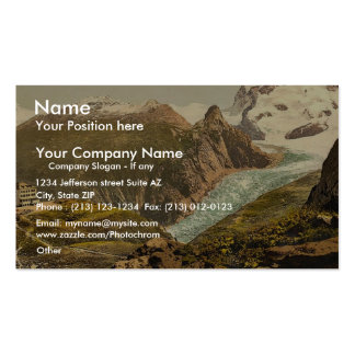 Monte Rosa and Hotel Schwarzsee Valais Alps of Business Card Templates