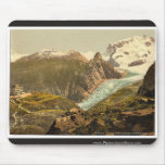 Monte Rosa and Hotel Schwarzsee, Valais, Alps of, Mousepad