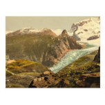 Monte Rosa and Hotel Schwarzsee, Valais, Alps of, Post Card