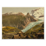 Monte Rosa and Hotel Schwarzsee, Valais, Alps of, Print