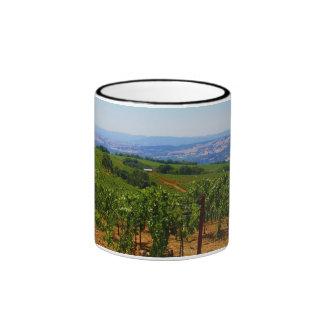 Monte Rosso Vineyard Ringer Mug