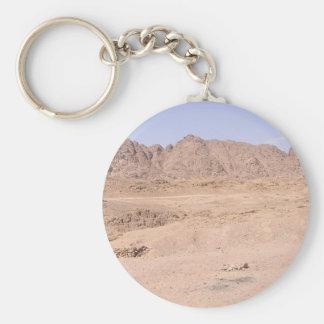 Monte Sinaí, Egipto Llavero Redondo Tipo Pin