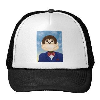 Monte The Smiling Monkey Trucker Hat
