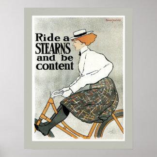 Monte un poster de Stearns