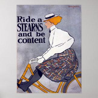 Monte un poster del vintage de Stearns