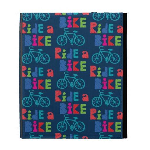 Monte una bici incompleta - cartera   del iPad de
