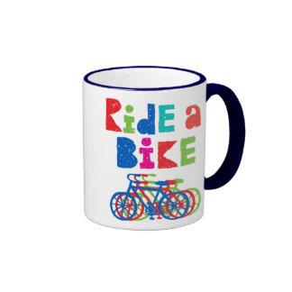 Monte una bici incompleta - taza
