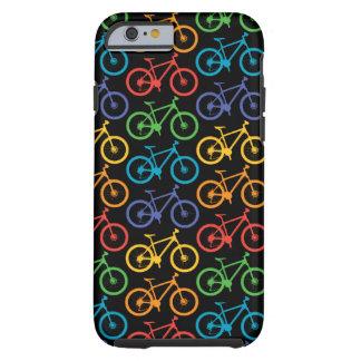 Monte una bici Marin - caja negra del iPhone 6 Funda Para iPhone 6 Tough
