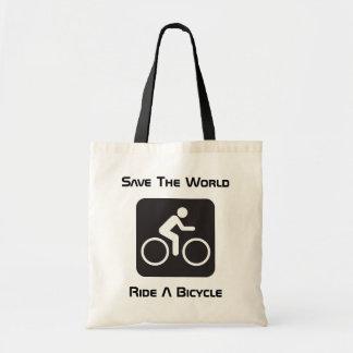 Monte una bolsa de asas del presupuesto de la bici