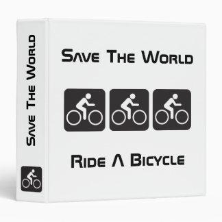 Monte una carpeta de la bicicleta