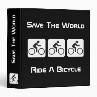 Monte una carpeta de la negativa de la bicicleta